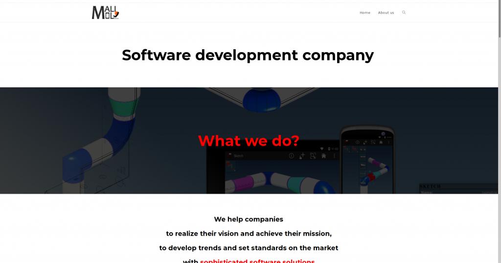Mali Mol web site screen shoot